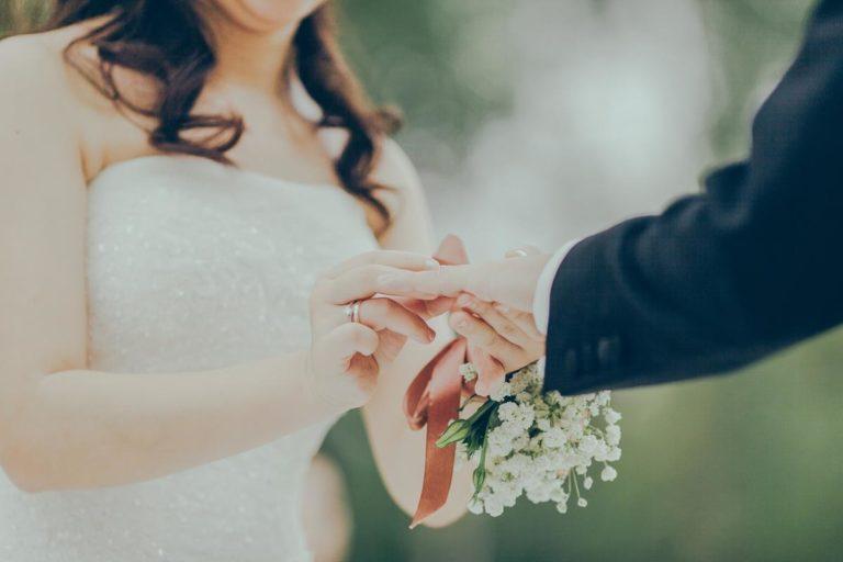 Suknia ślubna, która się wyróżnia